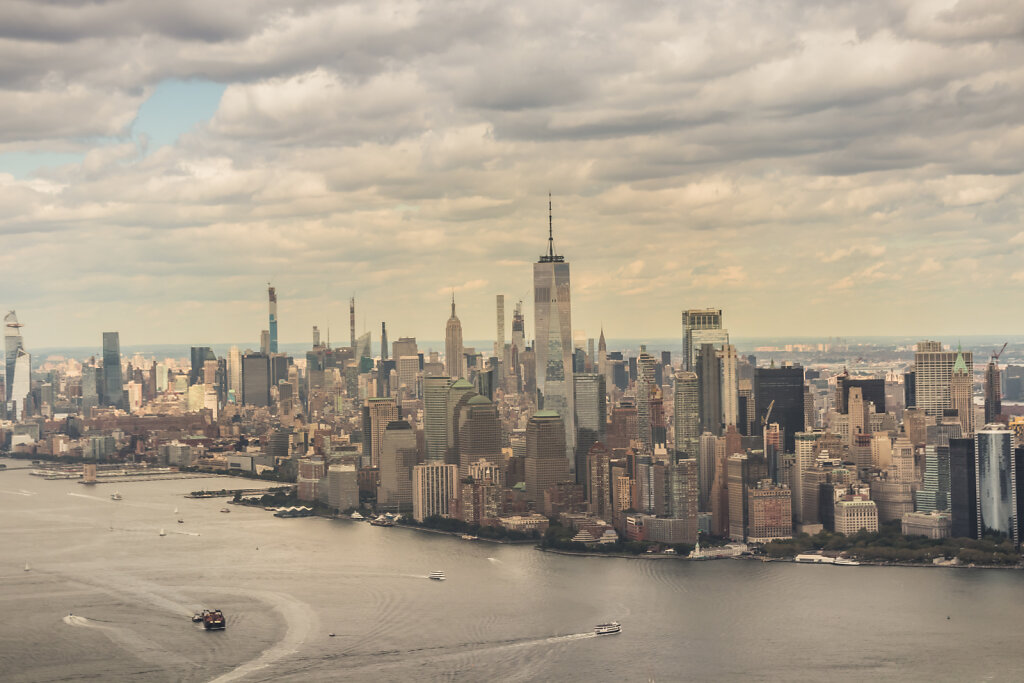NYC Ferry - Hélicoptère 09/19